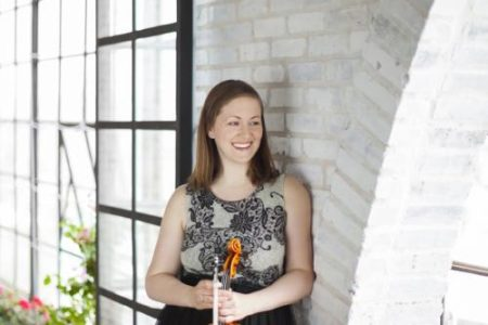 ROCO Violinist Mary Reed