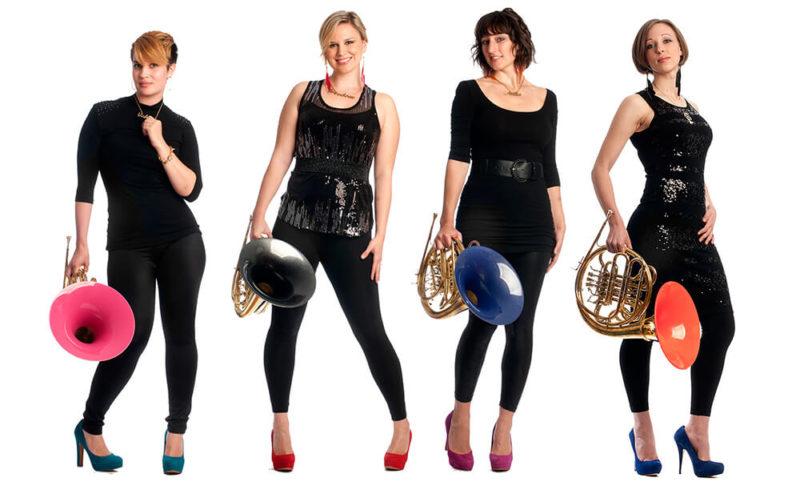 Genghis Barbie horn quartet