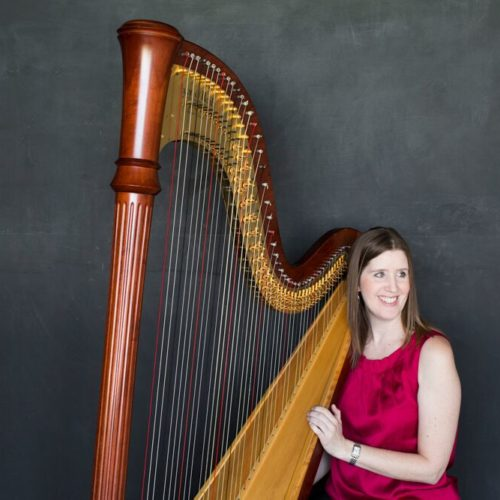 ROCO Principal Harpist Laurie Meister