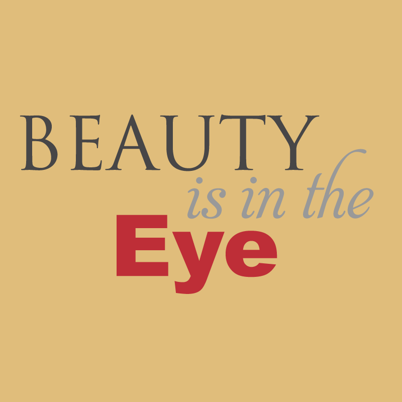 Beauty is in the Eye Concert Logo