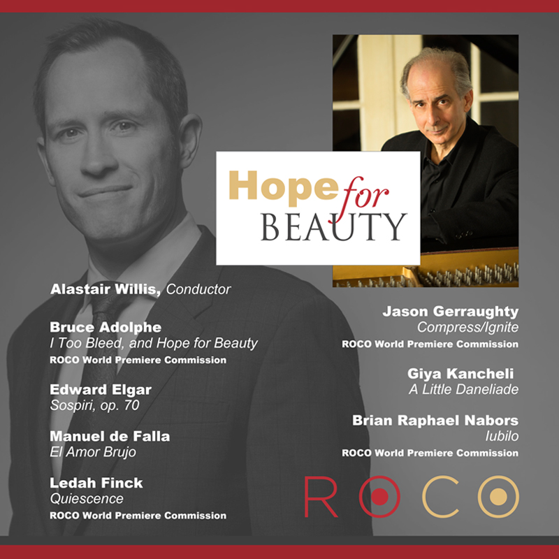ROCO In Concert: Hope for Beauty album cover