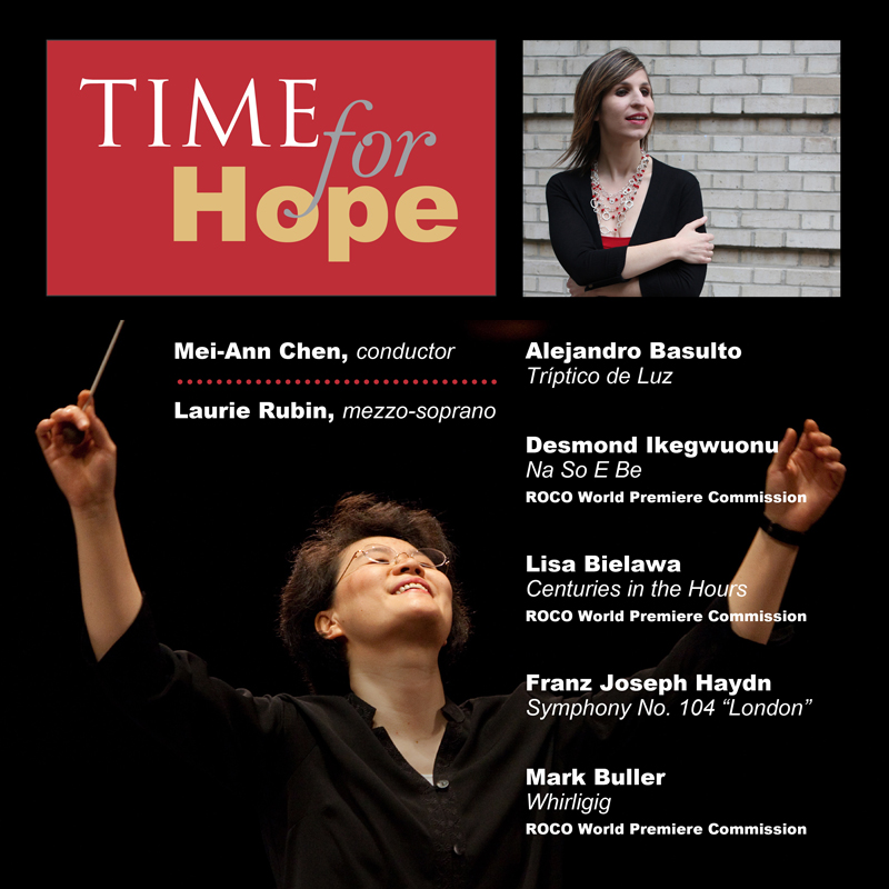 ROCO In Concert: Time for Hope album cover