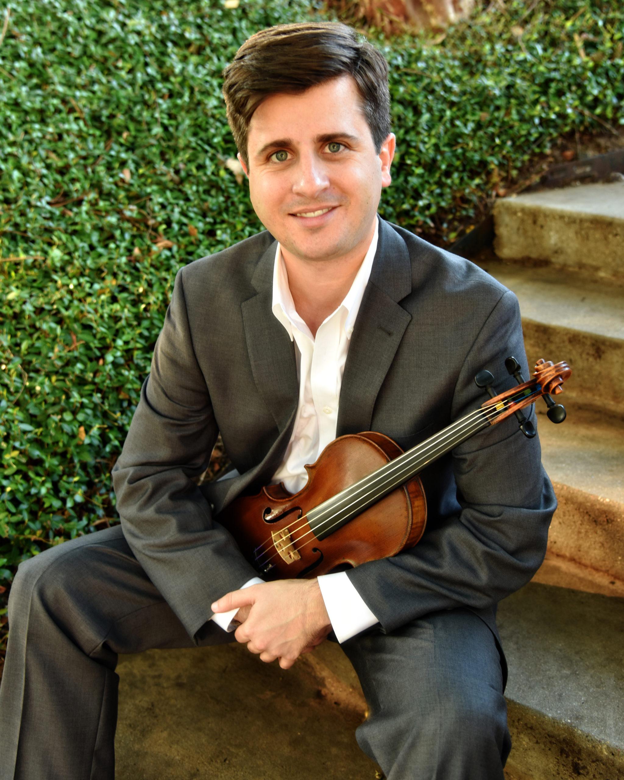 ROCO Violinist, Ben Grube